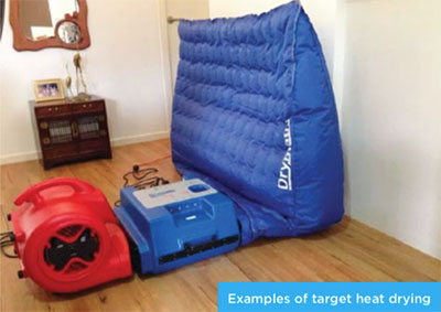 Photo of Target Heat Drying with Drymatic Boost and Wall Mat