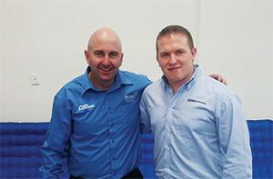 Garry Carroll and Alan James