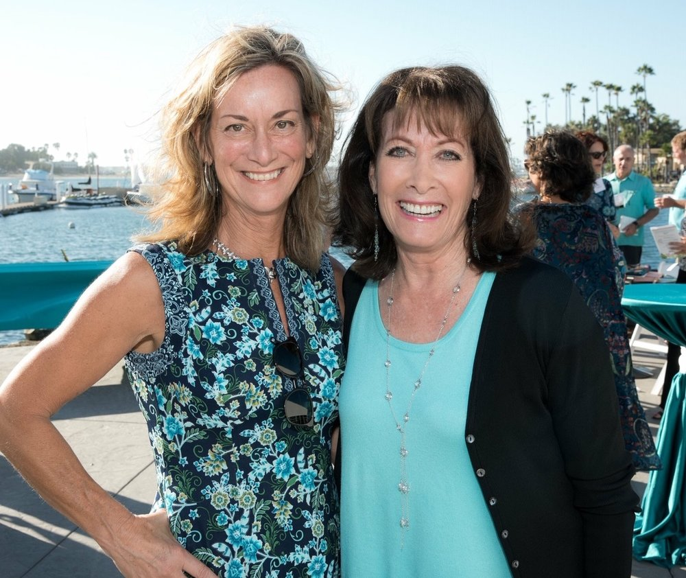 Robin Toft with Susan Taylor