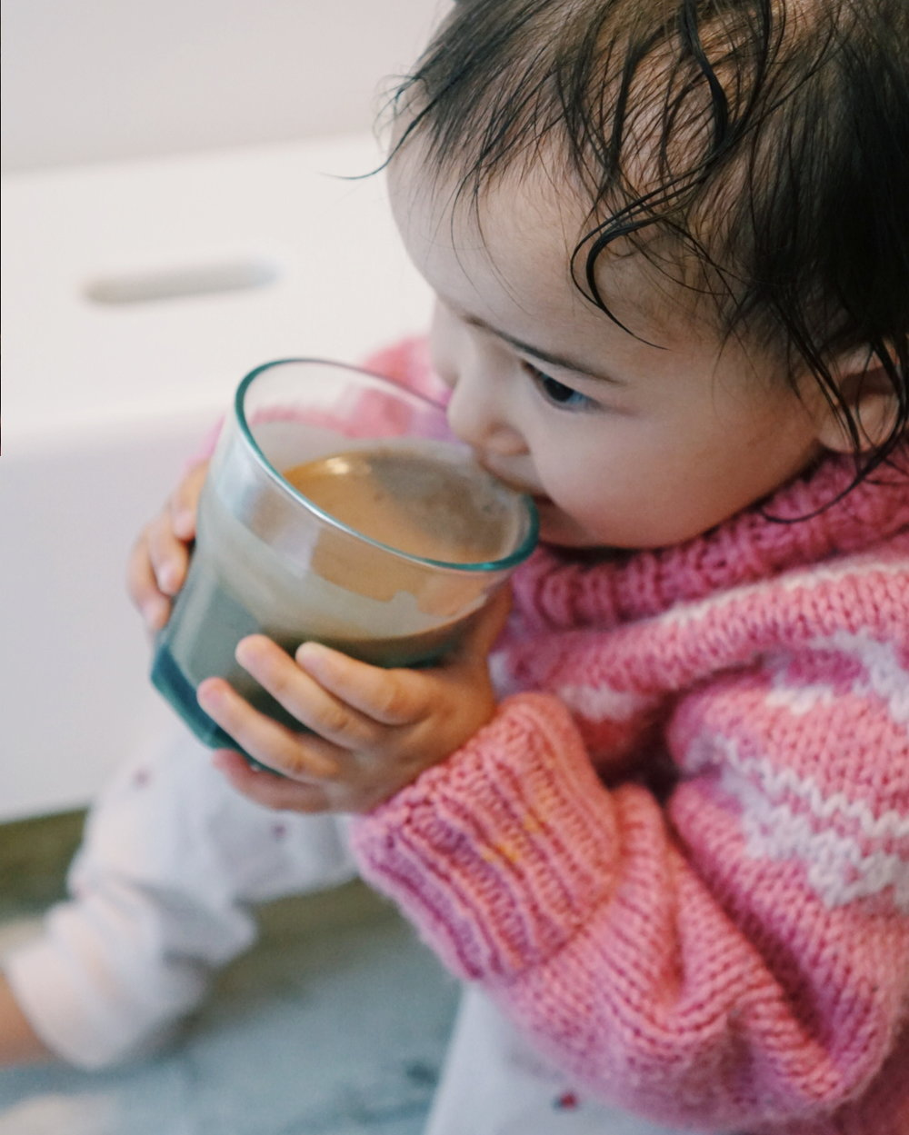 Kids Can Cook Too - Shupe's Soups - Drinking Smoothie.jpg