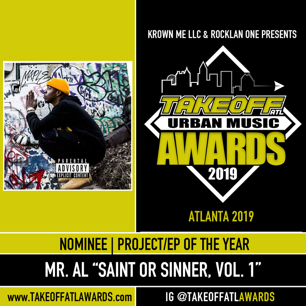 "Mr. Al  ""Saint or Sinner, Vol. 1"""