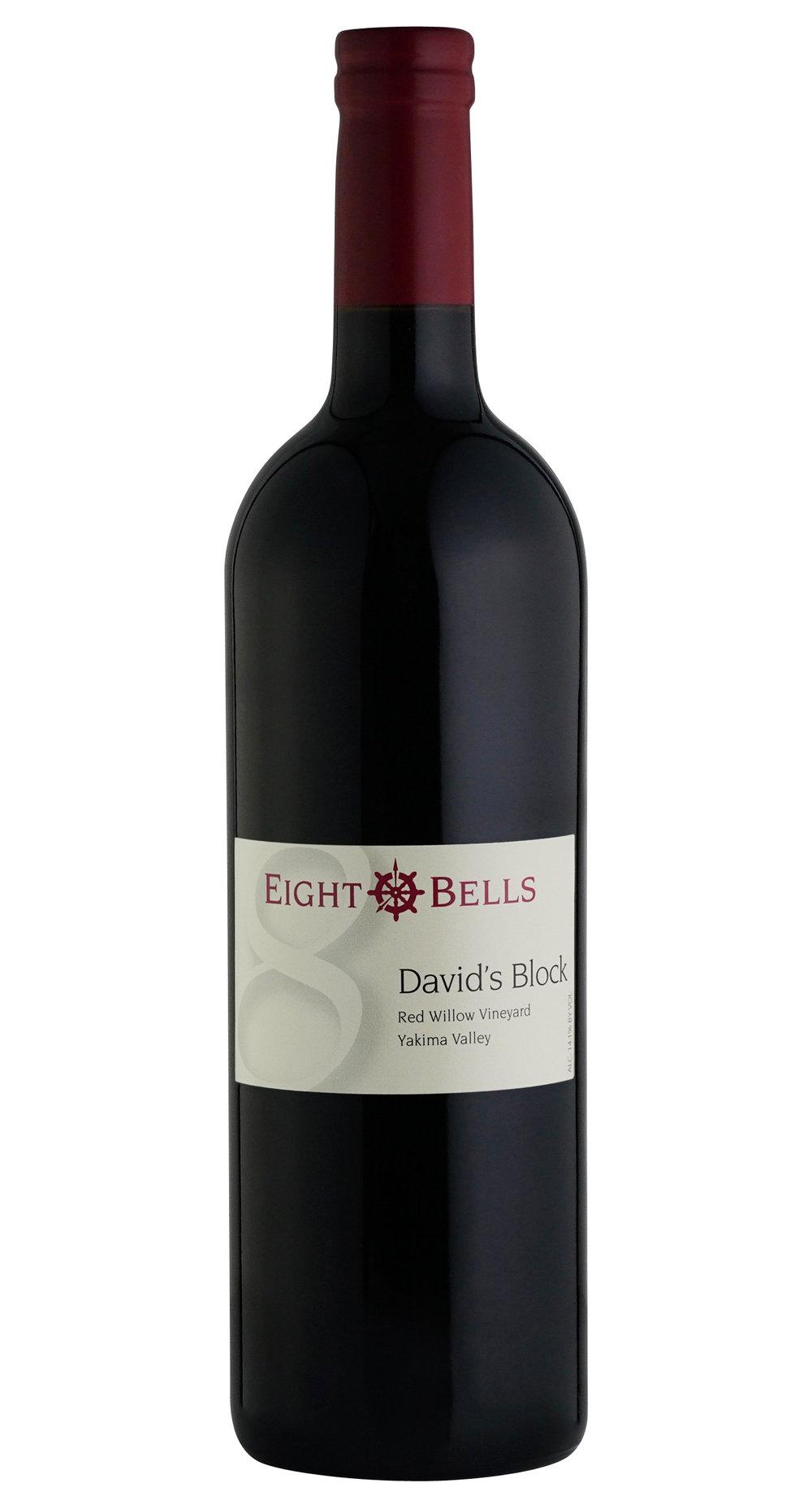 David's Block Wine Bottle