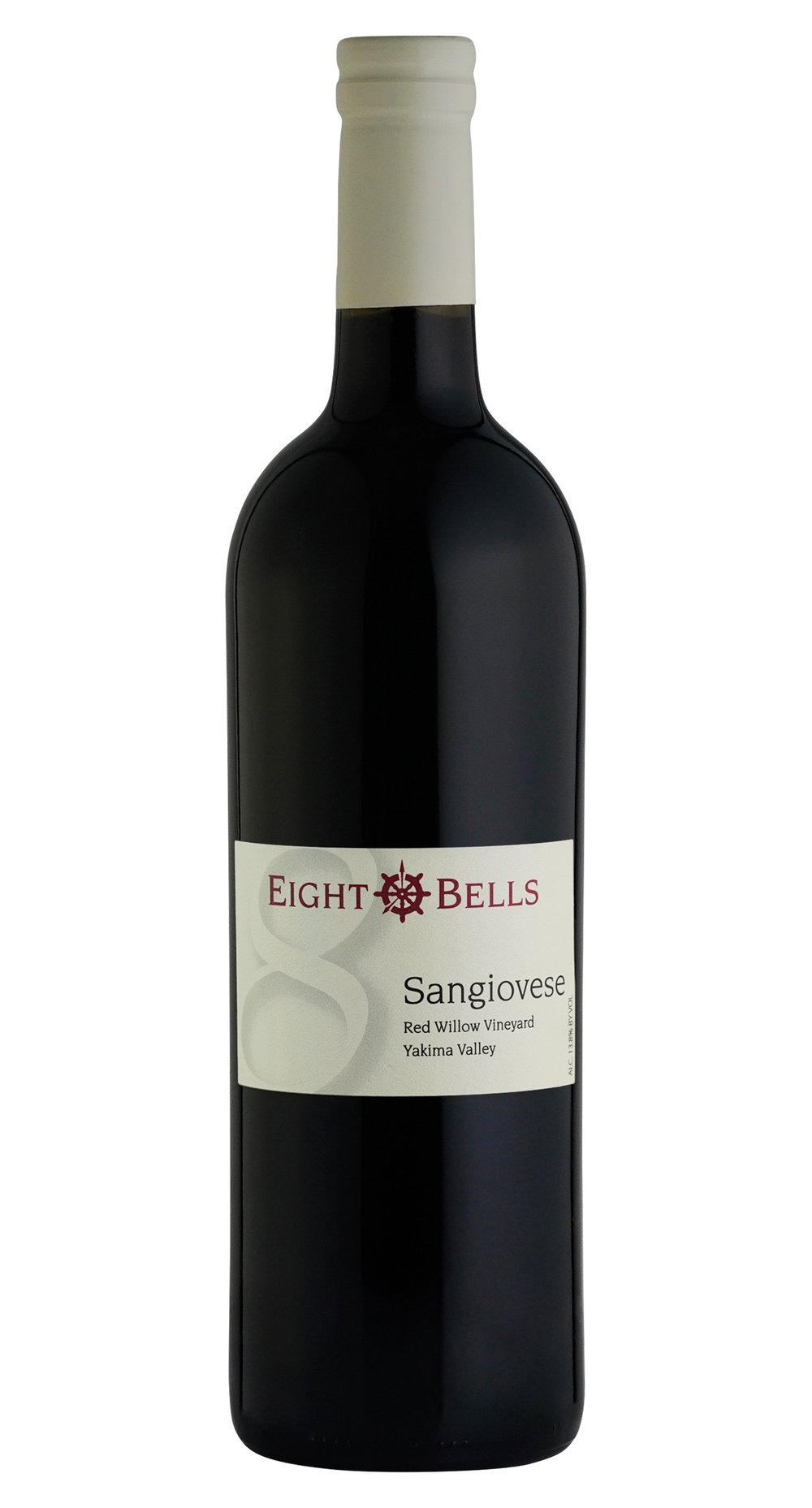 Sangiovese wine bottle