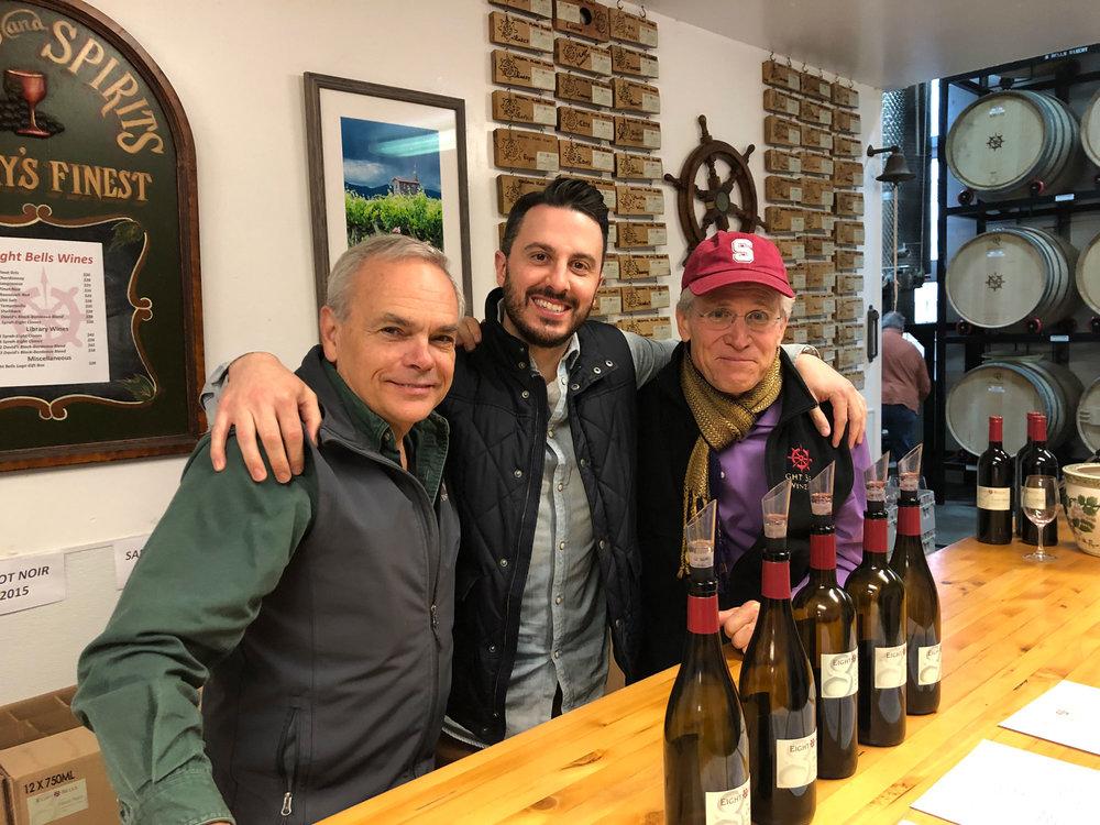Tim Bates, Jeff Ratti and Frank