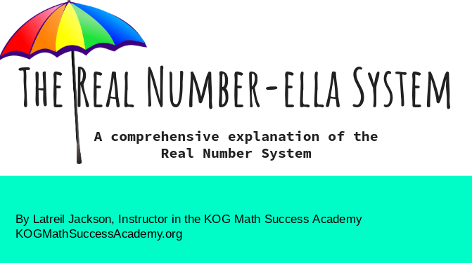 The Real Number-ella System - Explore the different categories of numbers. Then test your knowledge with quizzes.