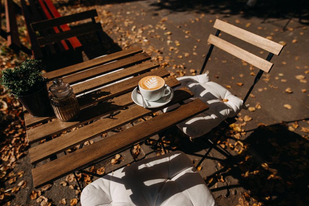 Antique Cafe Szeged - őszi hangulat / Fotó: Bóna Barna