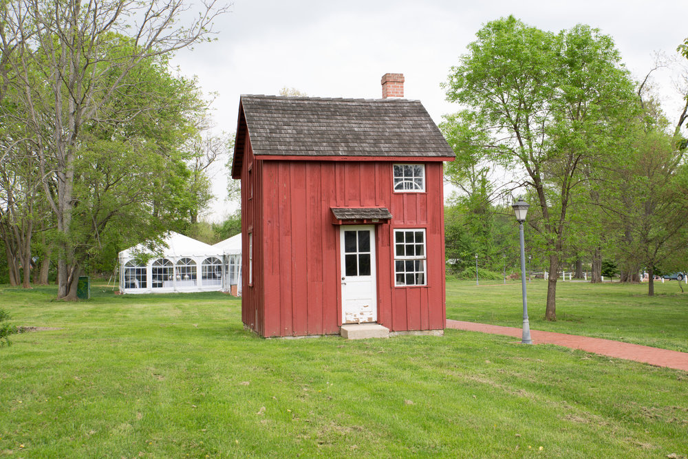 The little red barn.