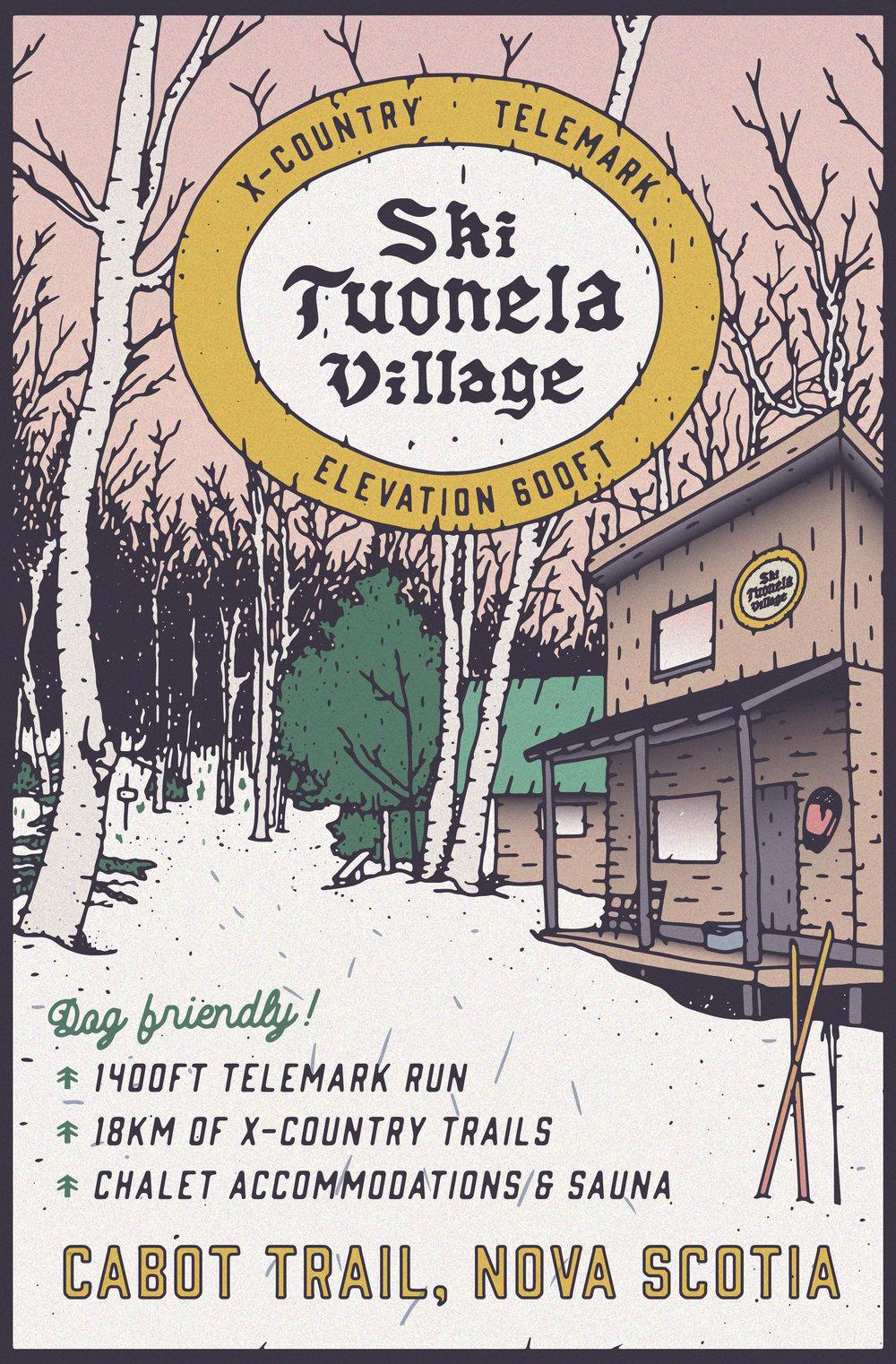Awesome wilderness resort:   Ski Tuonela