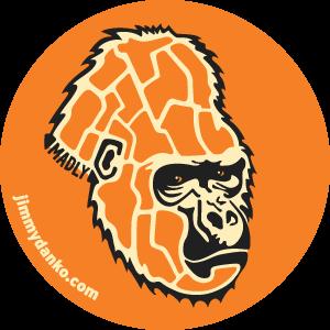 Danko Gorilla Sticker 2.0