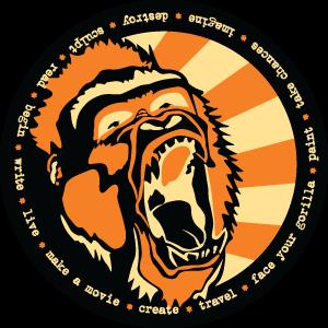 Original Danko Gorilla Sticker