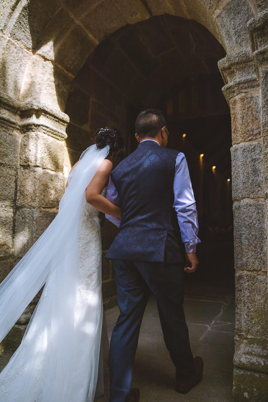 Copy of Entrée de la mariée à l'église