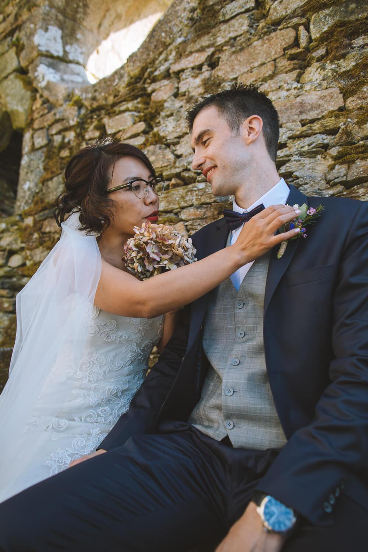 Séance photo du mariage