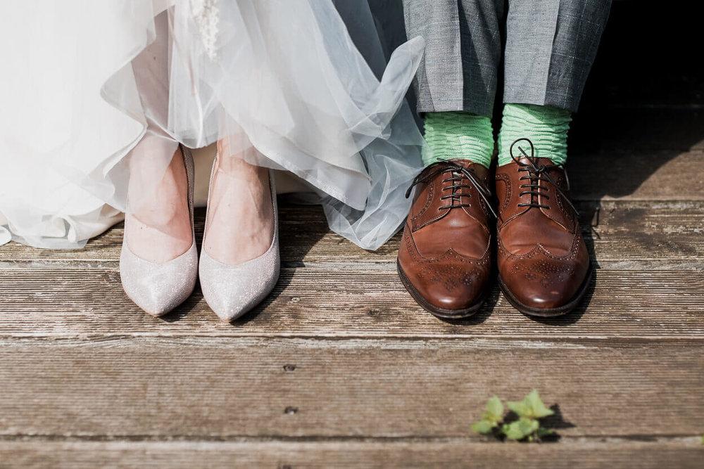chaussures des mariées