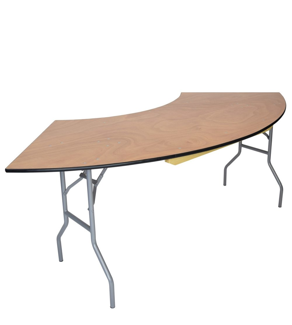 Serpentine Table - Available in 4ft, 6ft + 8ft. $13