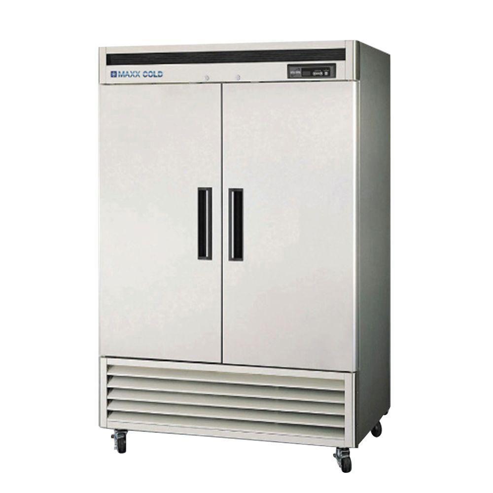 Commercial Double Door Refrigerator  -  $400