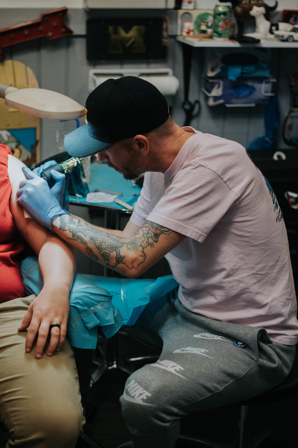 Tattooing -