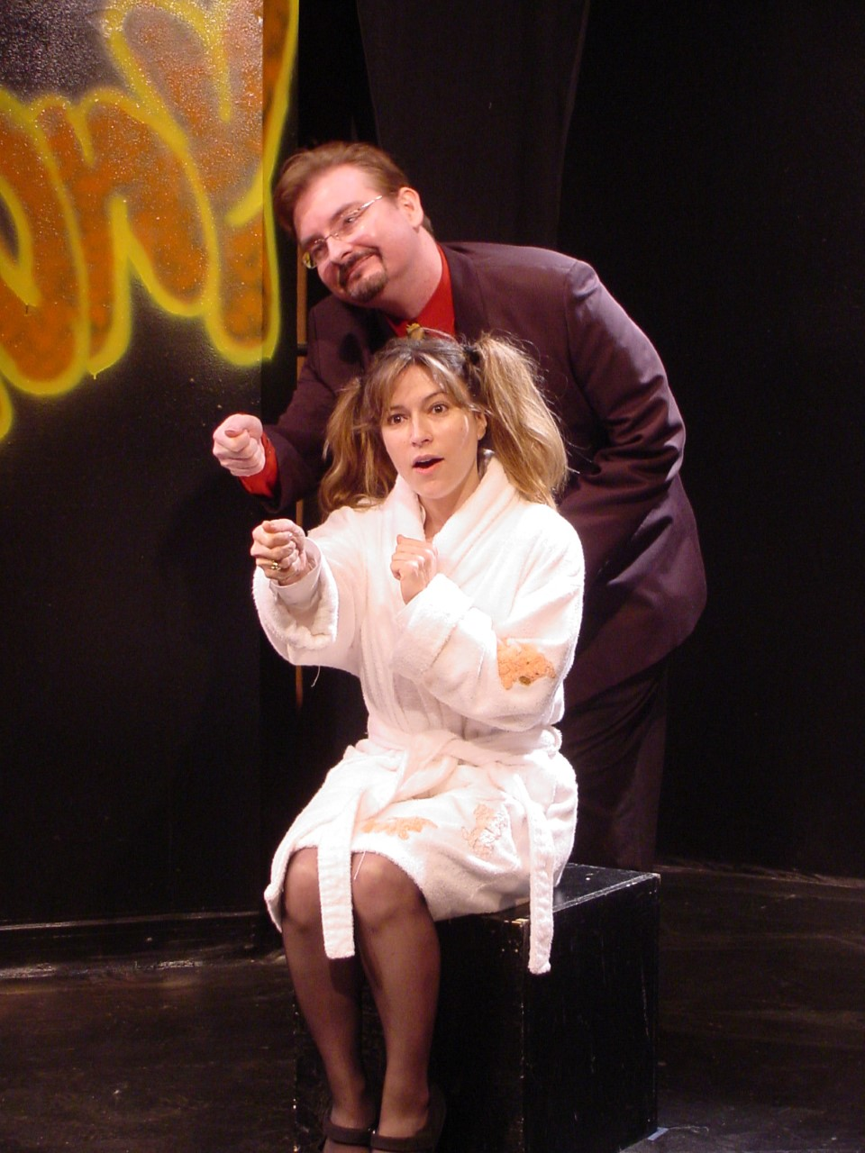 The Saga of Ginny - NJ Repertory Company Theatre Brut Short Play Festival