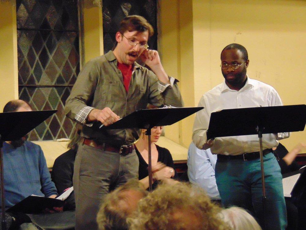 Dan Hodge and Akeem Davis