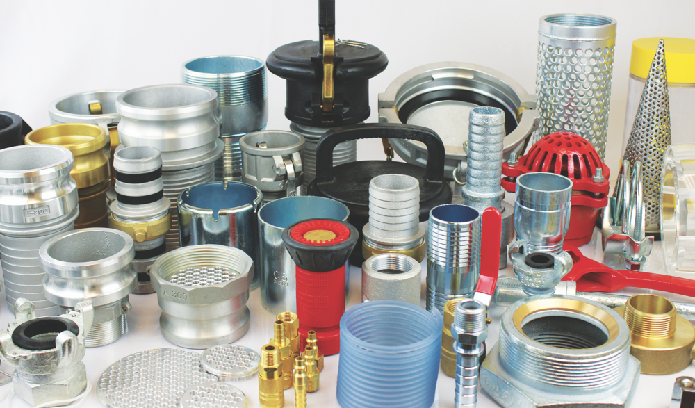 Hose Fittings - Couplings, Nozzles, & Accessories