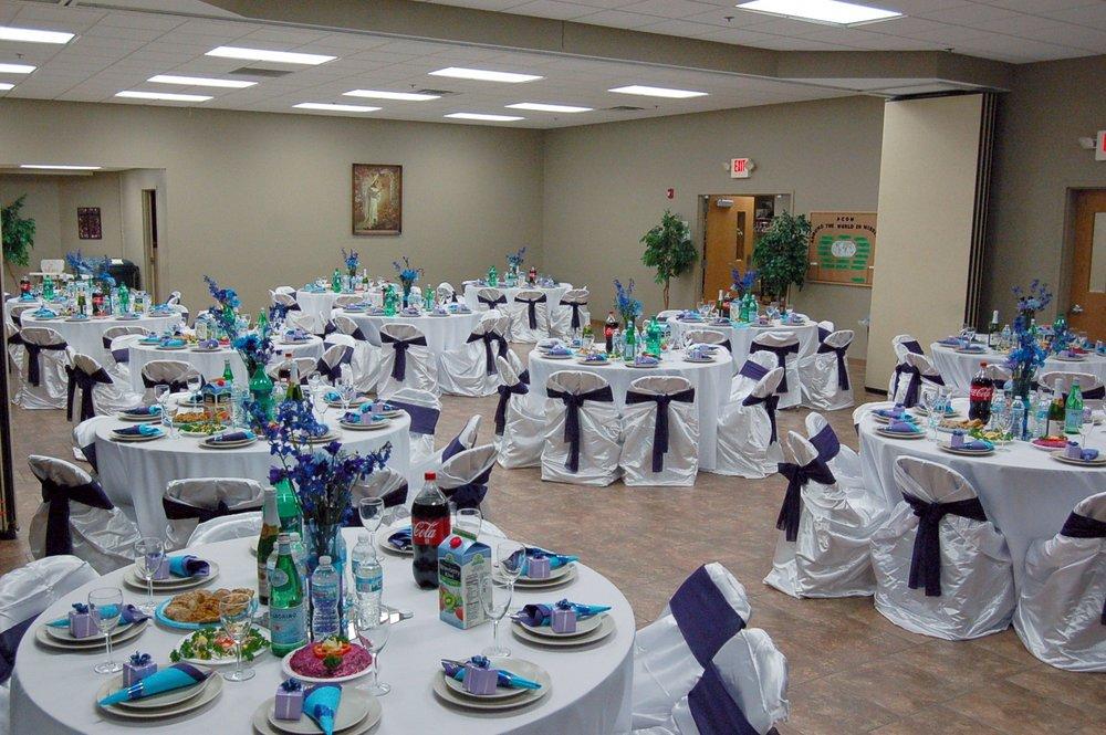 Fellowship Hall Setup