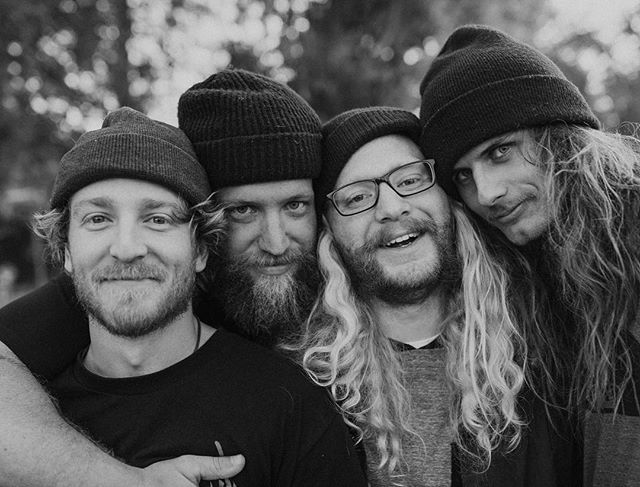 Raised by Woods has grown and we have been lucky enough to add a couple more of our best friends to the team. We thought it would be cool to show you guys the faces behind the camera these days. Here are pictures of us laughing at a joke that was probably only funny to us.
