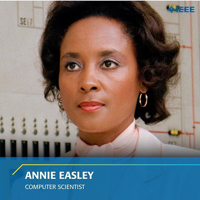 #WomenYouShouldKnow - Let's celebrate a computer scientist, mathematician, and rocket scientist: Annie Easley. She worked for the Lewis Research Center of the National Aeronautics Space Administration (@NASA) and it's predecessor the National Advisory Committee for Aeronautics (NACA). She was a leading member of the team which developed software of the Centaur rocket stage and one of the first African-Americans to work as a computer scientist at NASA. Text and image credit @ieeeorg . . . #505codclubs #stem #steminist #stemgirls #stemeducation #engineering #computerscience #computerscientist #womenintech #womenwhocode #girlswhocode #tech #technology #techie #abq #learntocode #steminist #stem #albuquerque #mathematician
