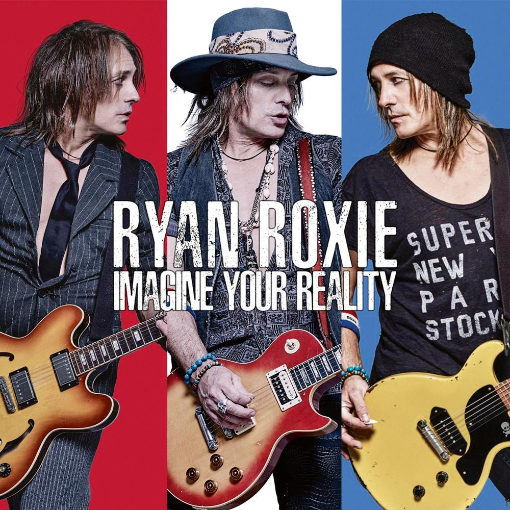 NEW MUSIC - Ryan Roxie's debut solo album is available on CD, vinyl, and digital download.