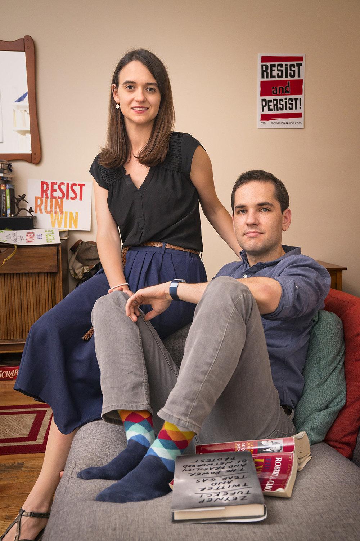 Leah Greenberg and Ezra Levin