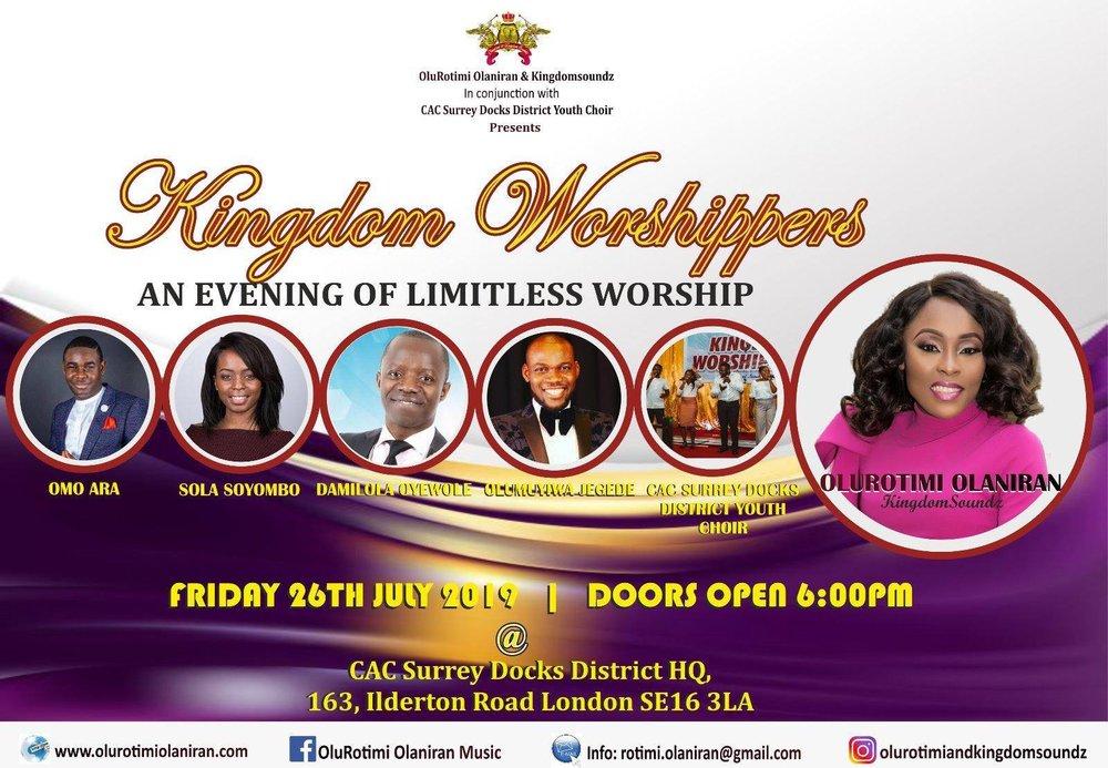 Worship Events — Yoruba Gospel Music