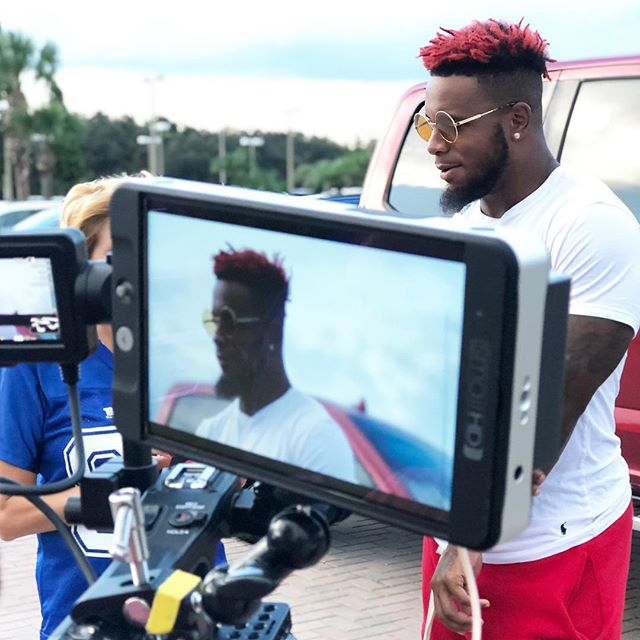 Great shoot yesterday with Kwon Alexander. Go Bucs!
