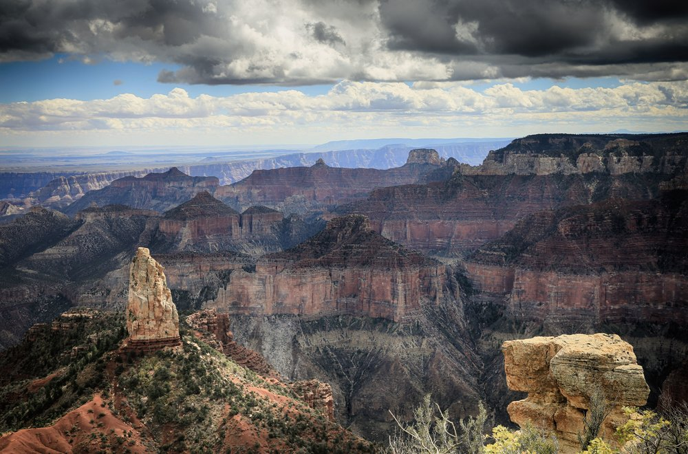 Point Imperial, North Rim, Grand Canyon