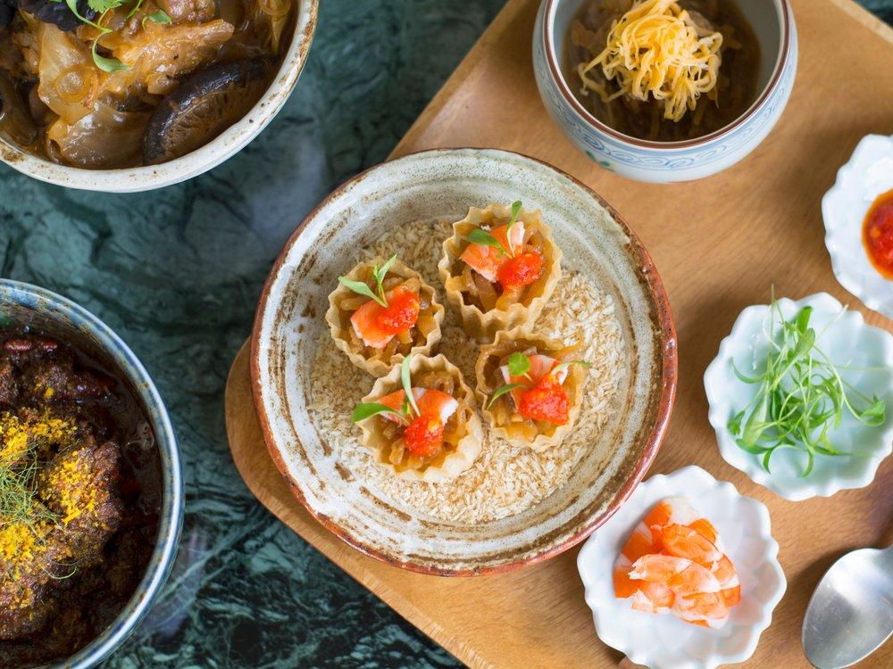 A Peranakan feast at Candlenut
