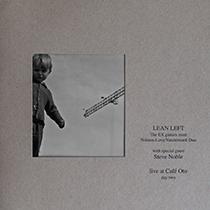 "2012 Lean Left  ""Live at Cafe Oto / Day 2 (VINYL)"""