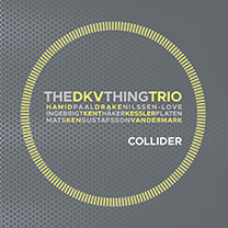 """2016 DKV trio / The Thing  """"Collider""""  NOTTWO Records"""