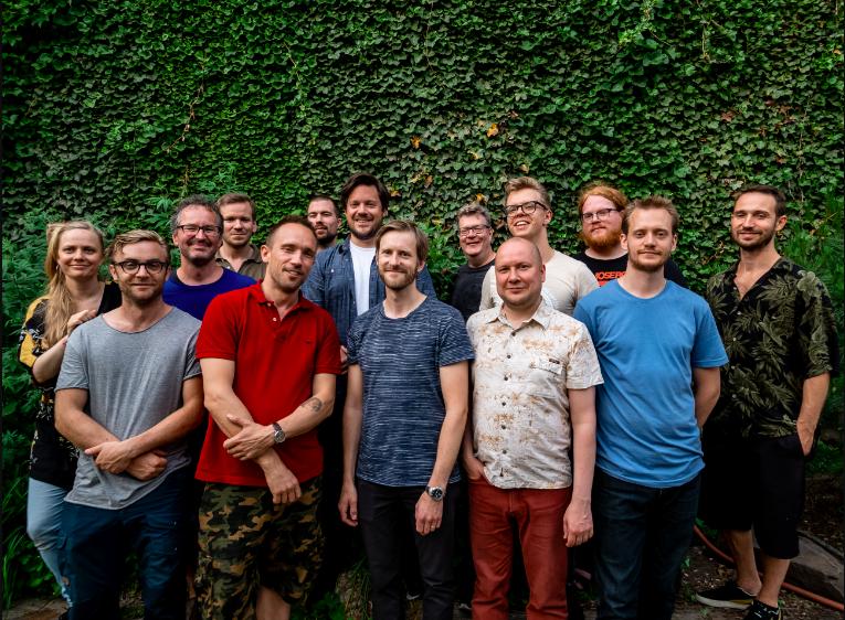 photo by Peter Gannushkin  Julie / Kristoffer / Ketil / Jon Rune / Paal / Christian / Thomas / Klaus / Per Åke / Tommi / Kalle / Mats / Andreas / Christian