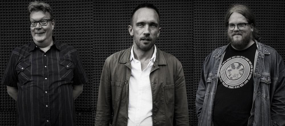 photo: Inge Schreuder-Lindløv   Per Åke Holmlander : tuba /  Paal Nilssen-Love : drums /  Mats Äleklint : trombone