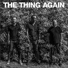 THE THING  Mats Gustafsson / Ingebrigt Håker Flaten / Paal Nilssen-Love   AGAIN    THE THIGN RECORDS  /  TROST  / TTR007 / CD/LP/DL /2018