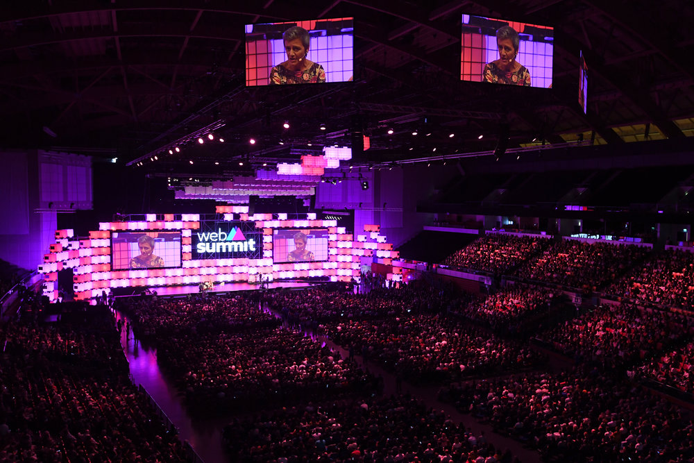Web Summit, November 2017 - In November 2017, I travelled to Lisbon to host a series of panels on fashion, e-commerce and gaming at Web Summit, one of the world's largest technology conferences.You can watch footage of the panels here:Fireside discussion with Farfetch's José NevesFireside discussion with Deliveroo's Will ShuPanel with Nordeus' Branko Milutinovic, LEGO Life at LEGO Group's Rob Lowe, and Olympian Allison WagnerPanel with Yu Capital's Wendy Yu and Matches Fashion's Ulric Jerome