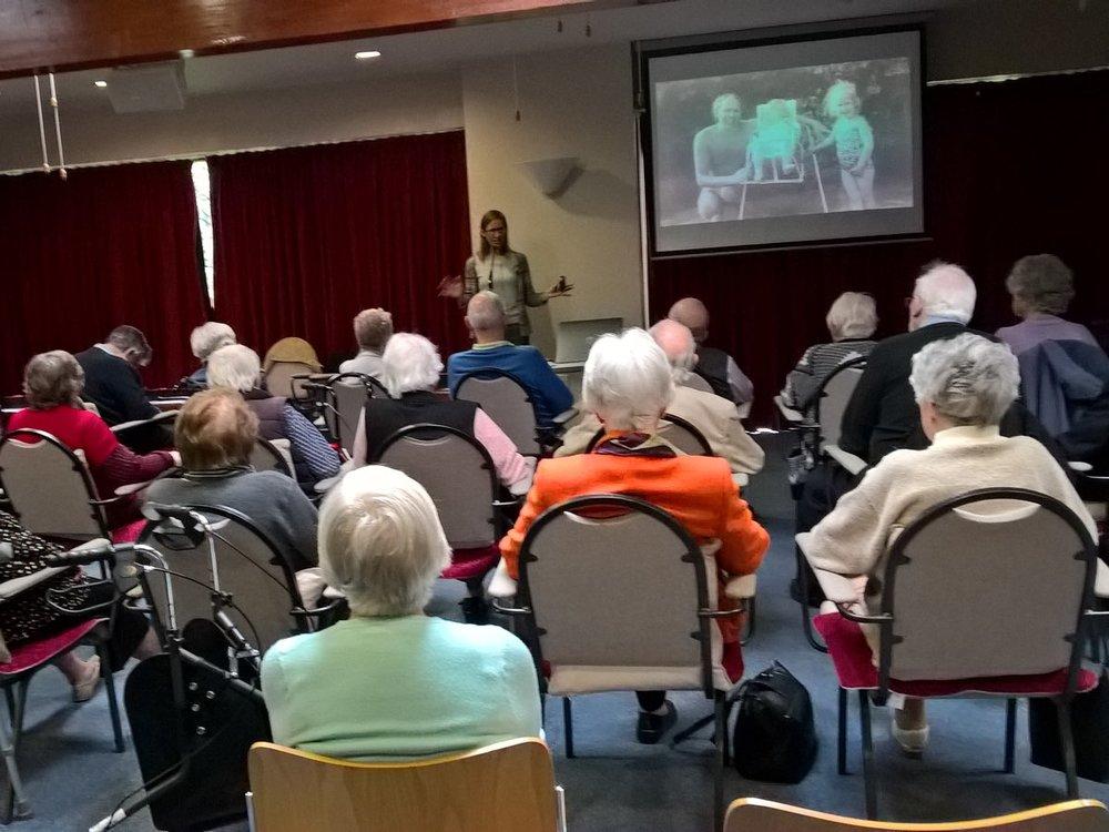 A talk at Friendship Club