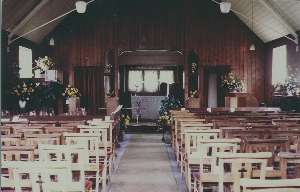 St Andrew's church, Easter Day, 29 March 1964
