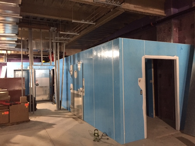 FEB 16, 2019 - The new produce walk-in cooler. Bigger than some apartments!