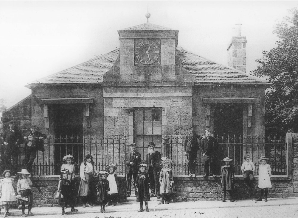 Old Schoolhouse, Morningside c1900