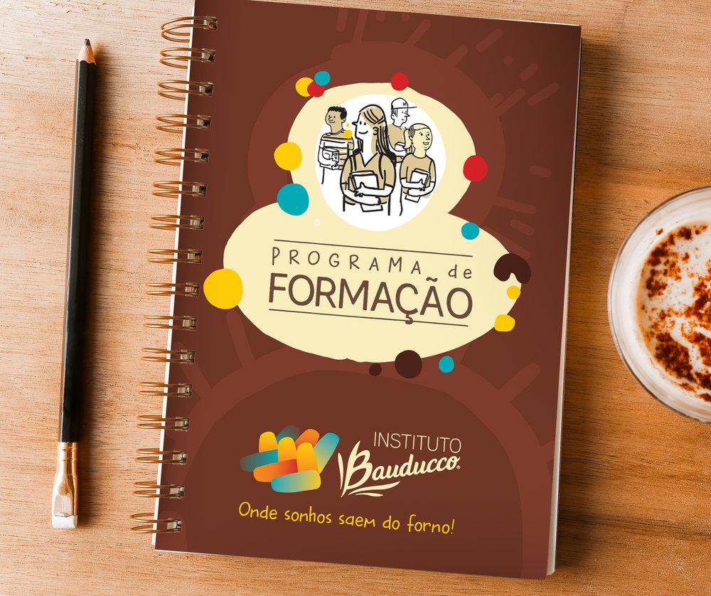 Caderno para os estudantes