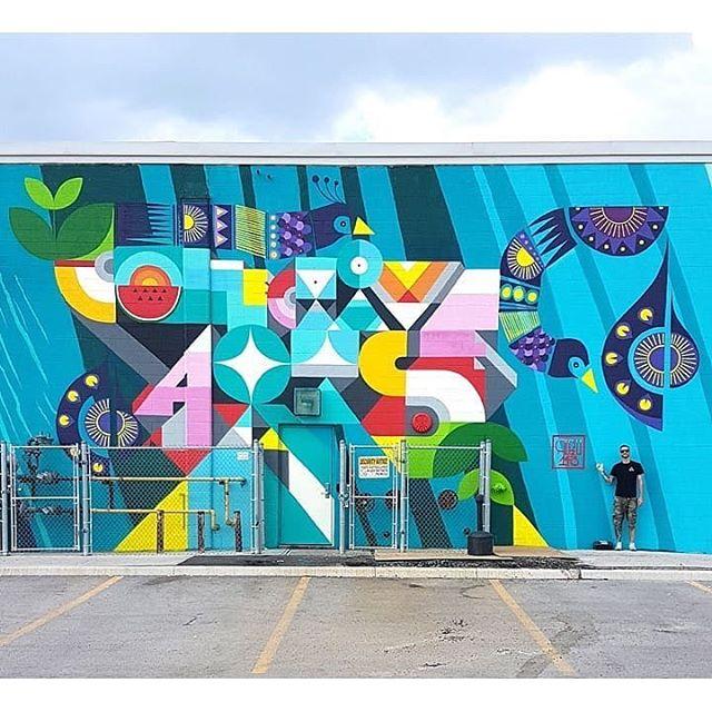 Collective Arts by @peru143 Stunning! #urbanart #streetart #funart #art #urbanicscreative