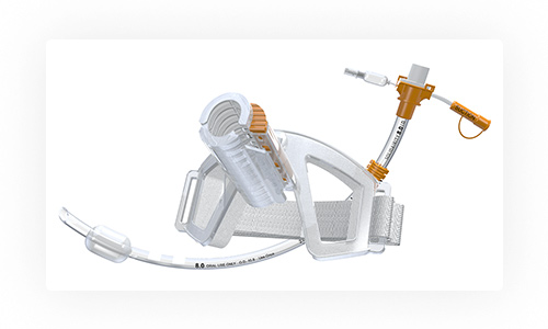 The First & Only - SolidAIRity™ is the only interlocking tube securement system. Competitor tube holders pinch, squeeze, or adhere to a smooth, slippery breathing tube.