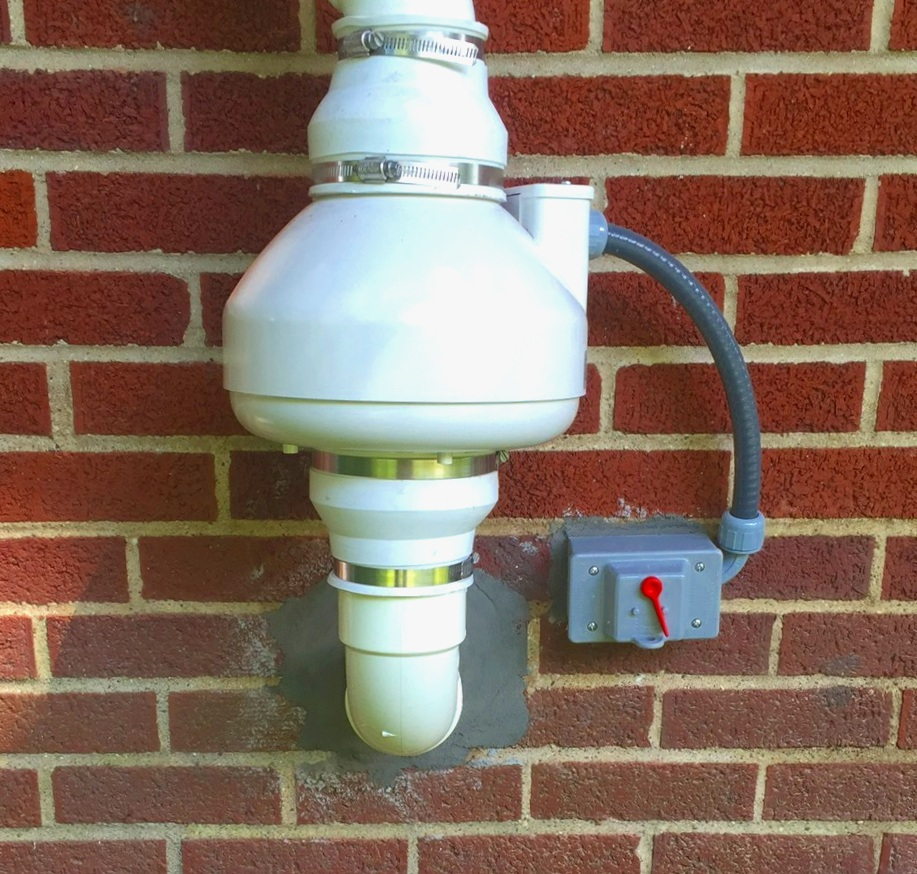 Radon Mitigation fans - There can be many challenges when it comes to installing radon mitigation systems, whether it's for a residential home or commercial building. The visual aspect and aesthetic side of things concerning radon systems is dependent on what options a home or building allows. Installing these systems in locations that are both pleasing cosmetically to look at, while still being functional in reducing radon levels is our ultimate goal. Meeting both of these demands without compromising the functionality of the radon system is our specialty. To help achieve this we rely on the latest technology and information available to us within the radon mitigation industry.