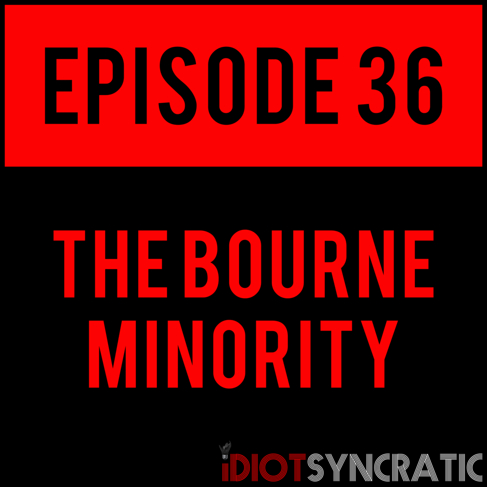 EPISODE 36 - Y'all are tearing this episode up! It's already our most played on release day, ever. But in case you haven't listened yet, THE BOURNE MINORITY - EPISODE 36 with Milkman Danny is out everywhere (except mf Spotify).
