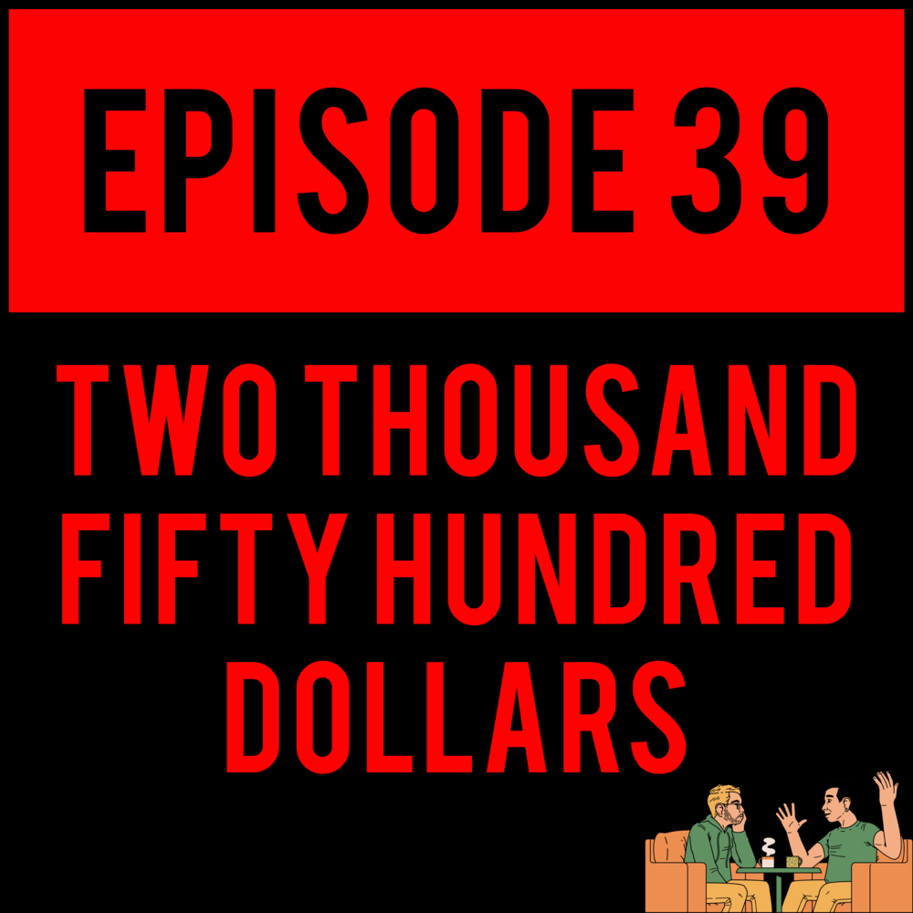 EPISODE 39 - Happy National#IDIOTSYNCRATICDAY! As promised we've released THREE BRAND NEW EPISODES, today! TWO THOUSAND FIFTY HUNDRED DOLLARS - EPISODE 39 withMilkman Danny// ShitChute ($5 tier): SOME SAY IT'S STILL THERE - EPISODE 3 // AirHeads ($10 tier): HUMAN GOOP - EPISODE 2 are all out and ready for you to tear into.Go. Freaking. Nuts.