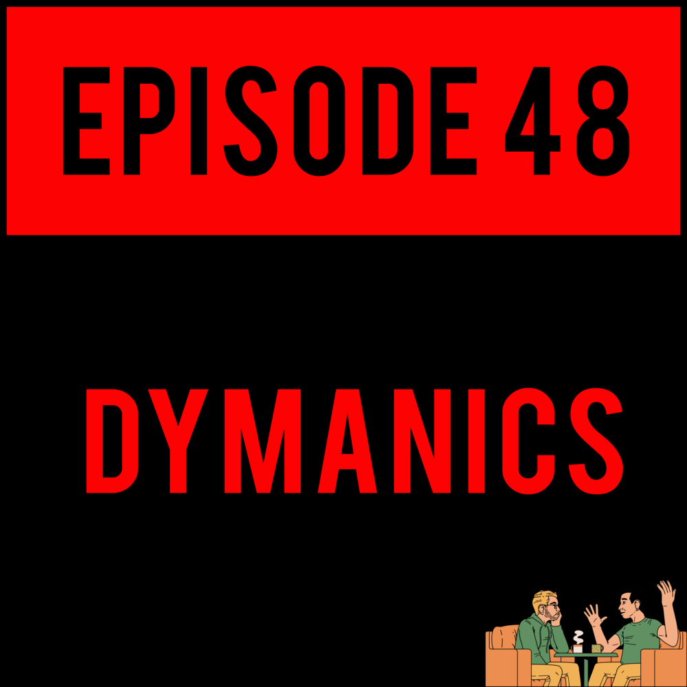 EPISODE 48 - OH SHIT, SON. Alex beats a dead horse and grinds its remains into 20-sided DnD dice, and Justyn creates the Spider-Man we all need but don't deserve (spoiler: he's a raging murderous cannibal). Hear all about it on DYMANICS - EPISODE 48!