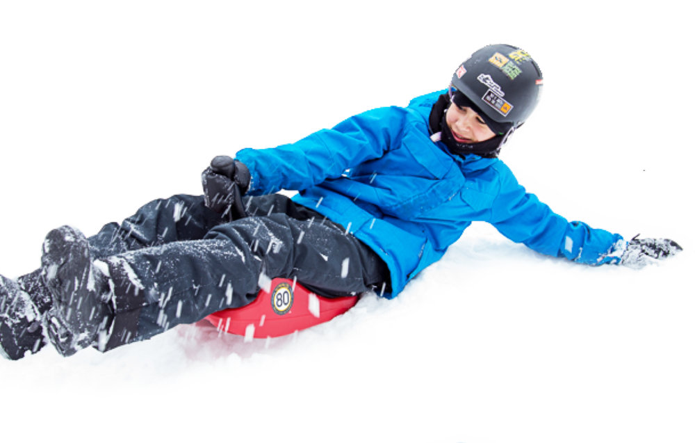 Carve Control - Lean to carve for big slalom turns and narrow forest runs!